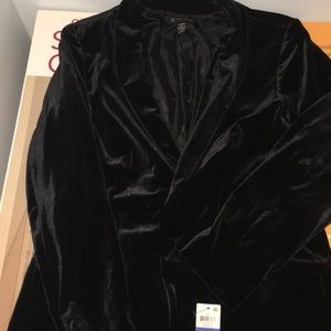 Women's INC Velvet blazer xl